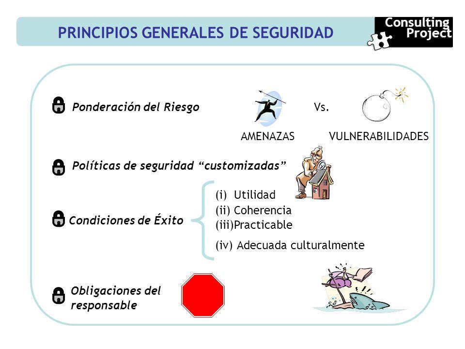 PRINCIPIOS GENERALES DE SEGURIDAD