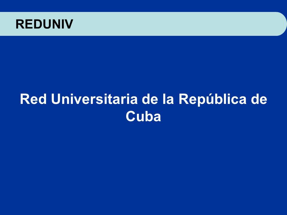 Red Universitaria de la República de Cuba
