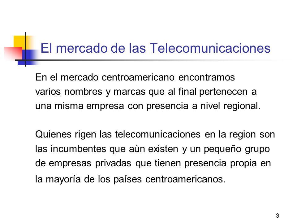 El mercado de las Telecomunicaciones