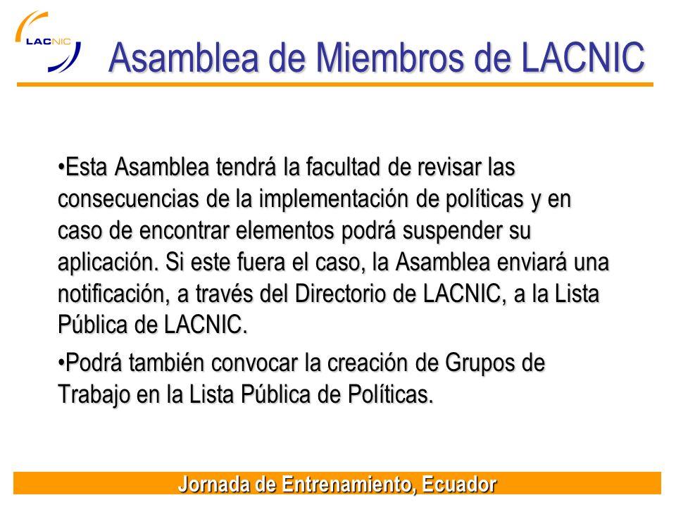 Asamblea de Miembros de LACNIC