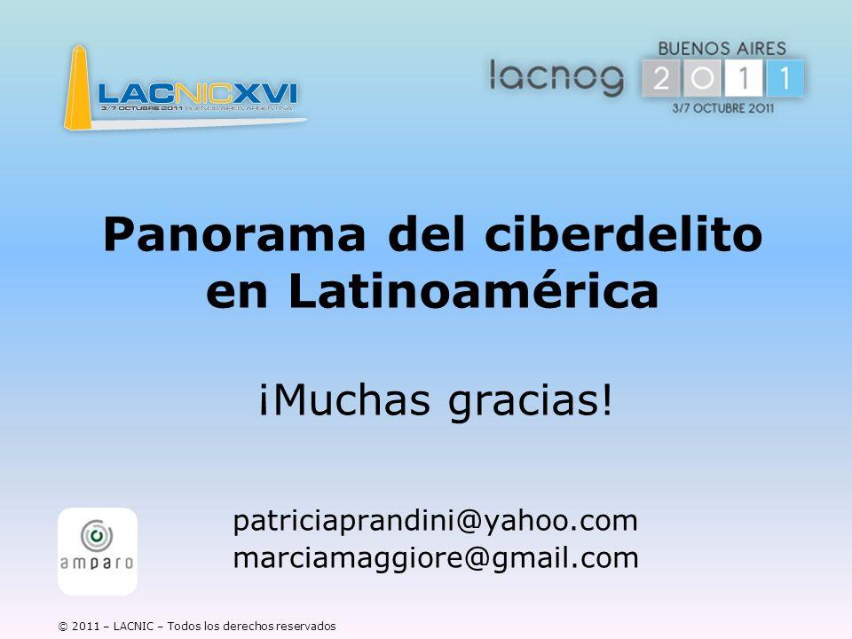 Panorama del ciberdelito en Latinoamérica