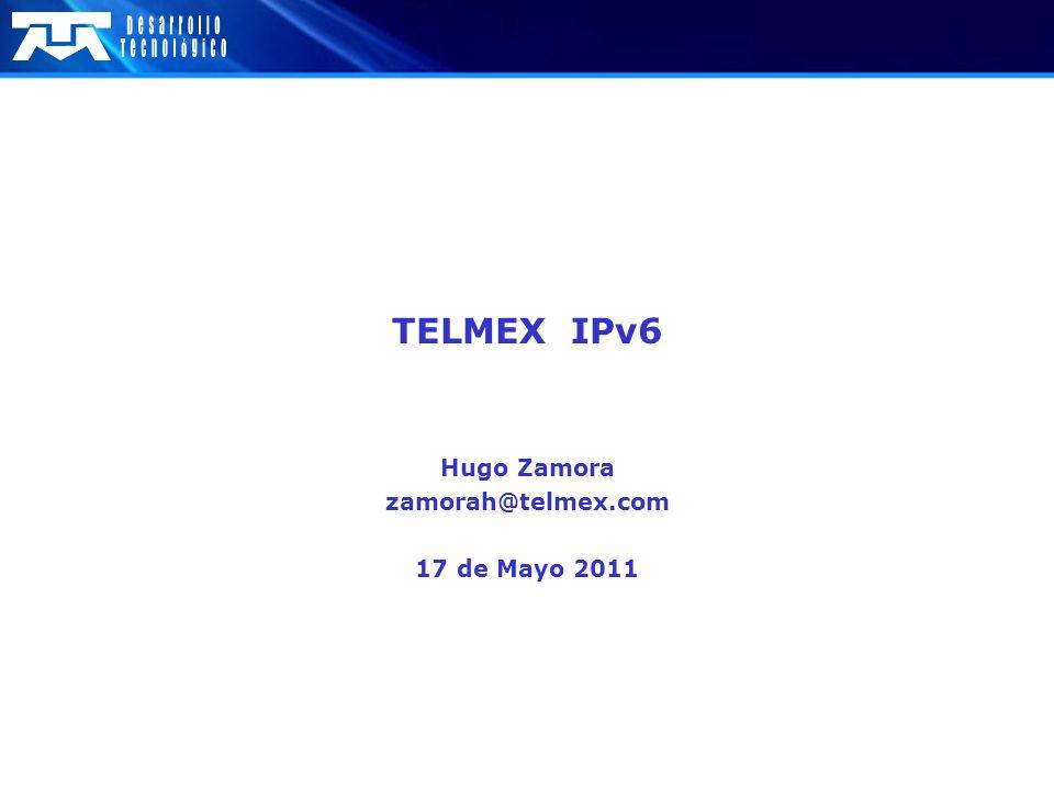 Hugo Zamora zamorah@telmex.com 17 de Mayo 2011