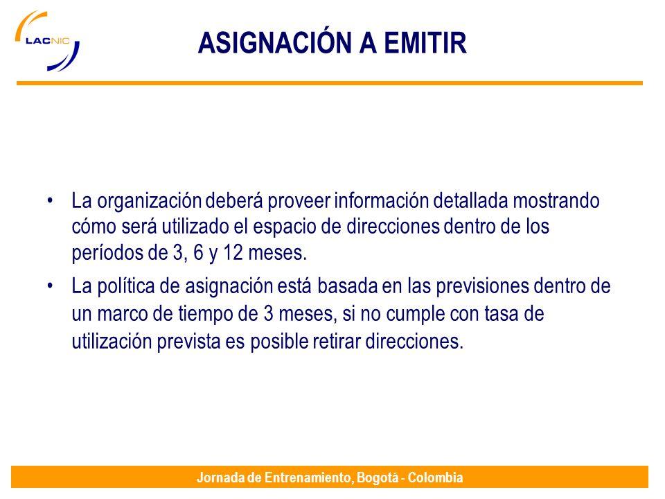 ASIGNACIÓN A EMITIR