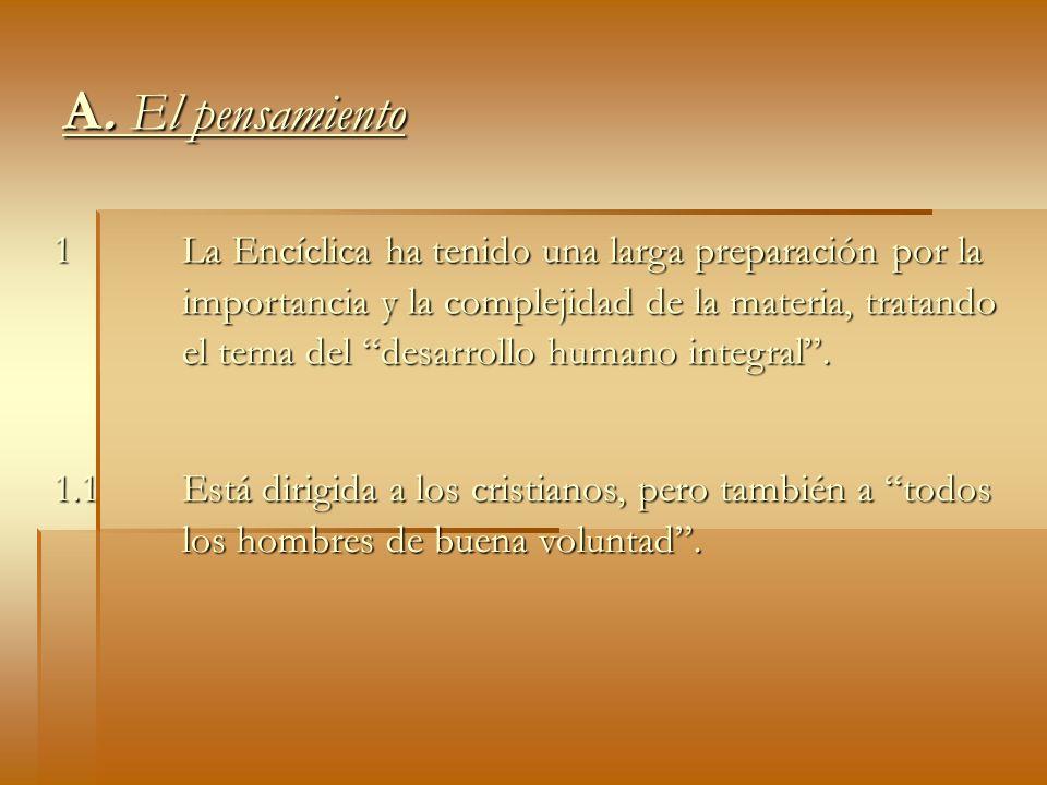 A. El pensamiento1.