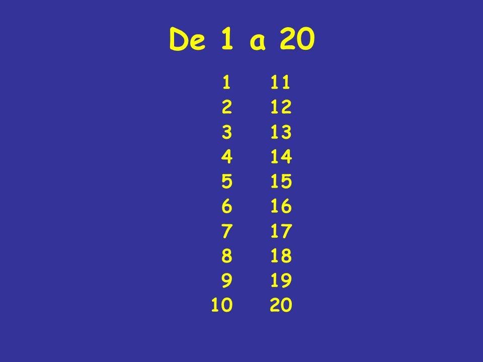 De 1 a 20 1 2 3 4 5 6 7 8 9 10 11 12 13 14 15 16 17 18 19 20