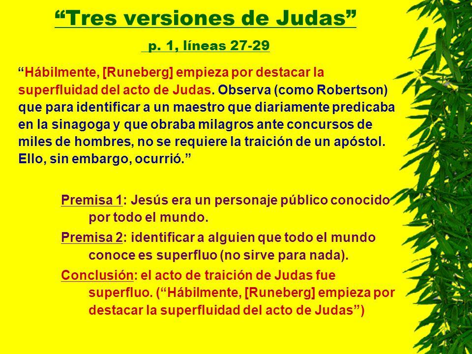 Tres versiones de Judas p. 1, líneas 27-29