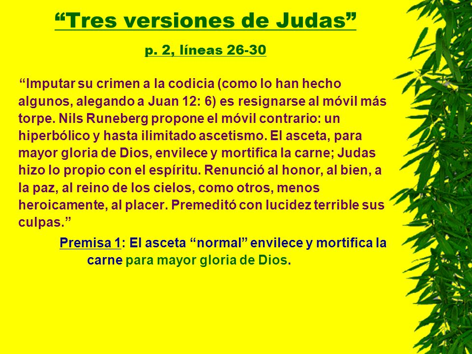 Tres versiones de Judas p. 2, líneas 26-30