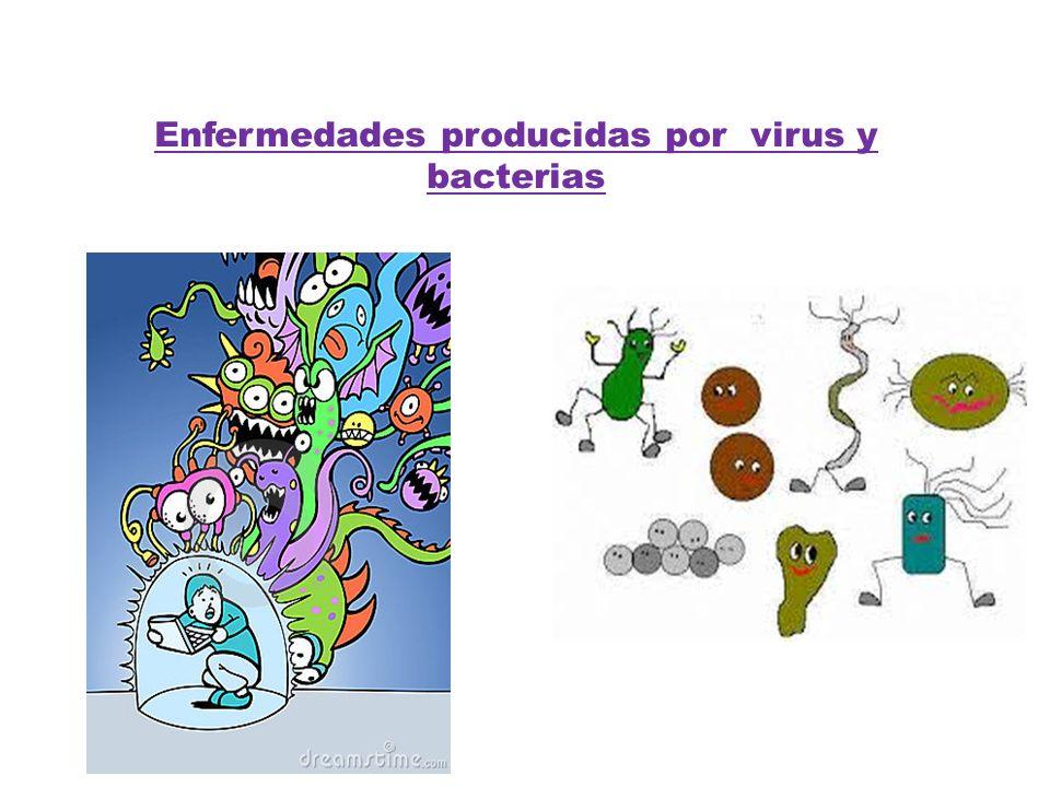 Enfermedades producidas por virus y bacterias