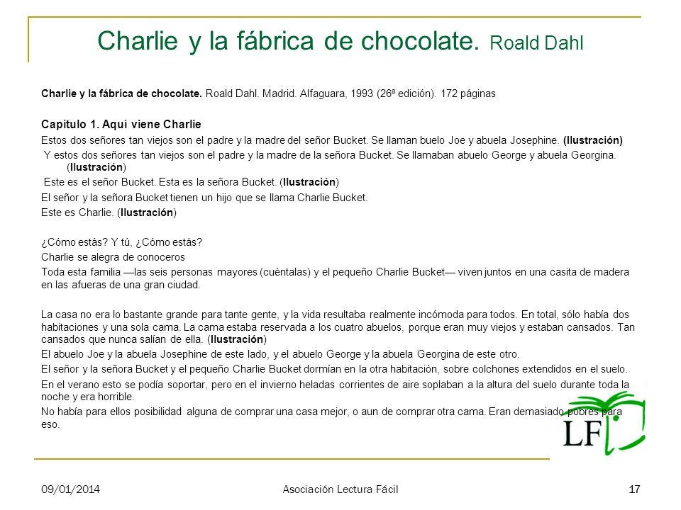 Charlie y la fábrica de chocolate. Roald Dahl