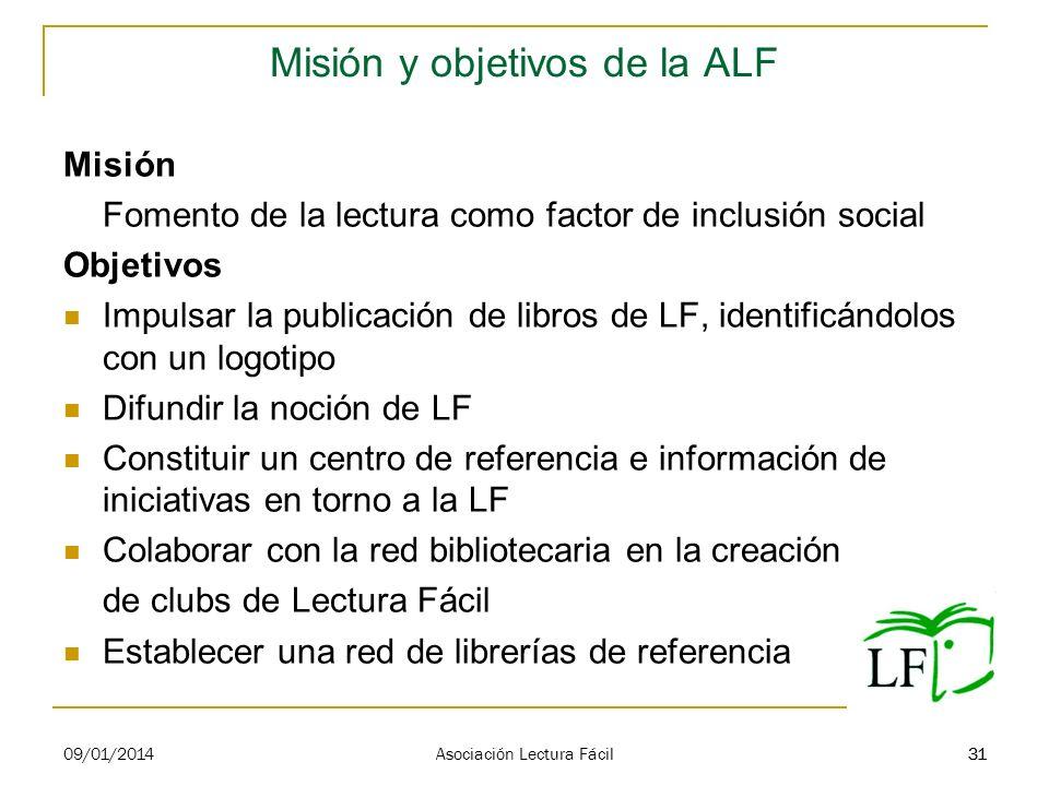 Misión y objetivos de la ALF