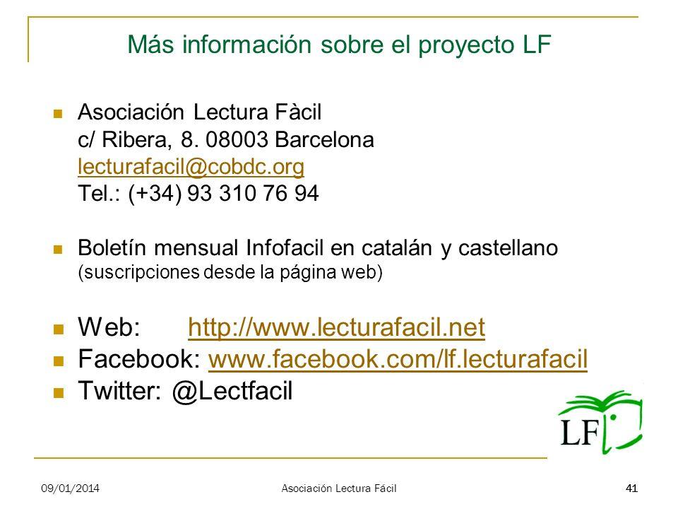 Más información sobre el proyecto LF