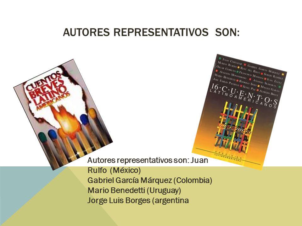 Autores representativos son: