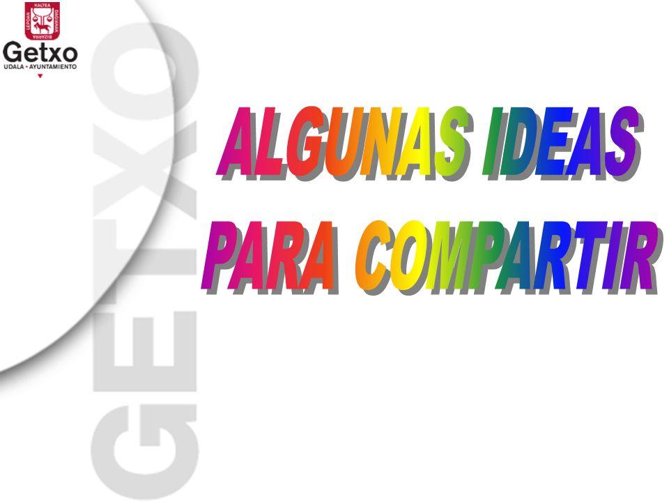ALGUNAS IDEAS PARA COMPARTIR