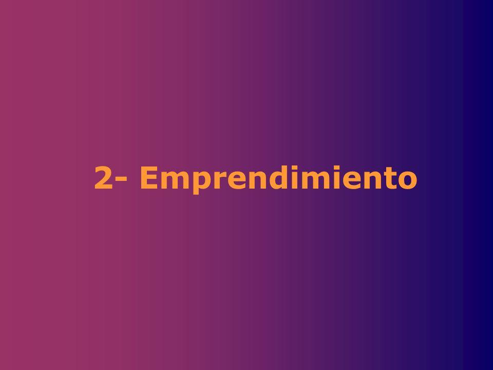 2- Emprendimiento