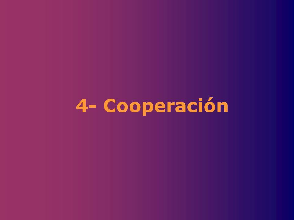 4- Cooperación