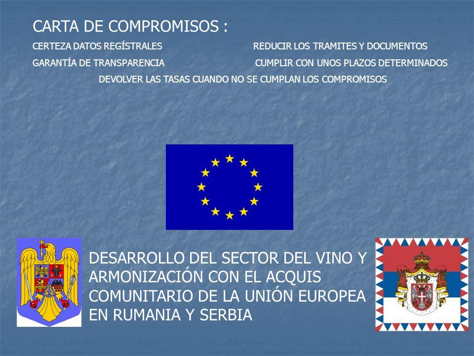 CARTA DE COMPROMISOS : CERTEZA DATOS REGÍSTRALES REDUCIR LOS TRAMITES Y DOCUMENTOS.