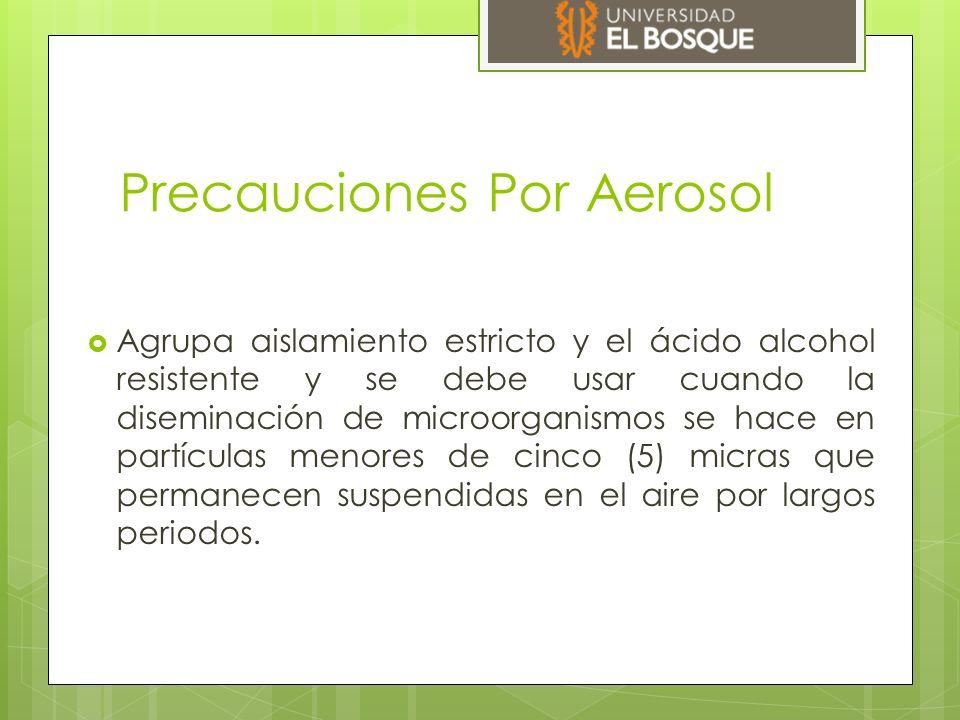Precauciones Por Aerosol