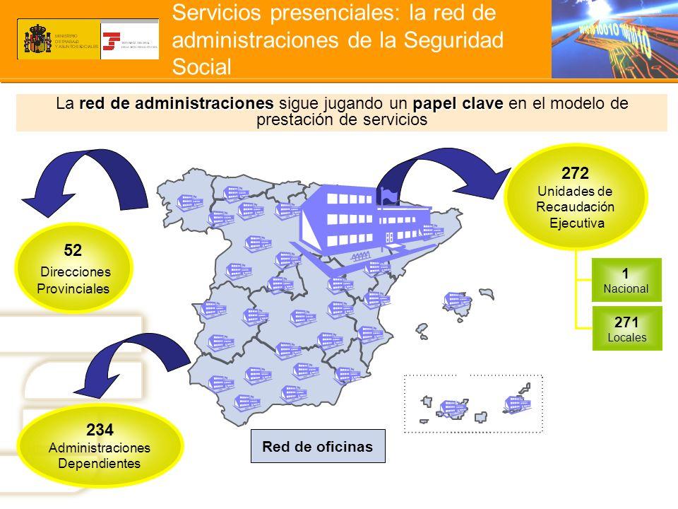 Servicios presenciales: la red de administraciones de la Seguridad Social