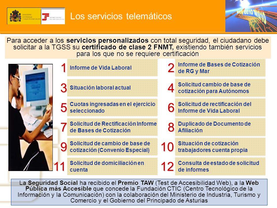 Los servicios telemáticos