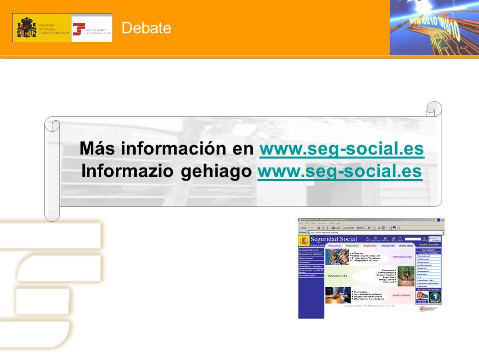 Más información en www.seg-social.es