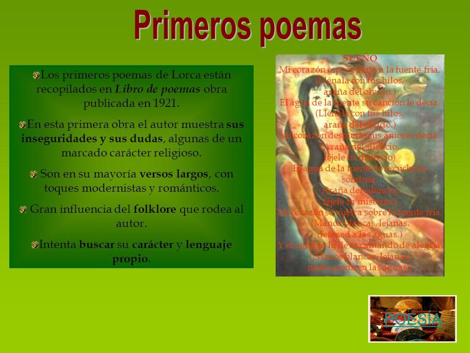 Primeros poemas POESÍA