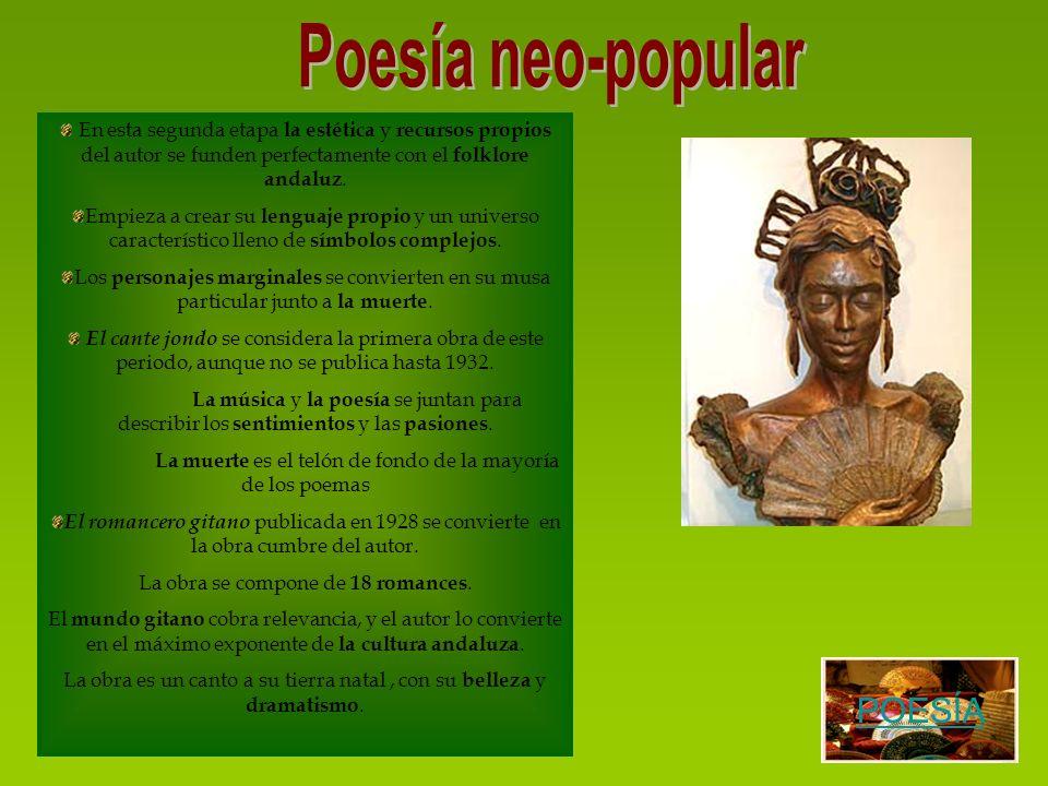Poesía neo-popular POESÍA
