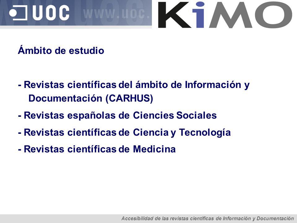 - Revistas españolas de Ciencies Sociales