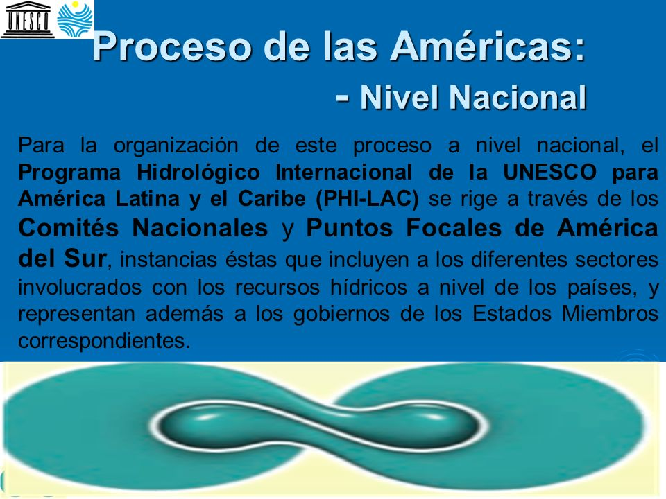 Proceso de las Américas: - Nivel Nacional