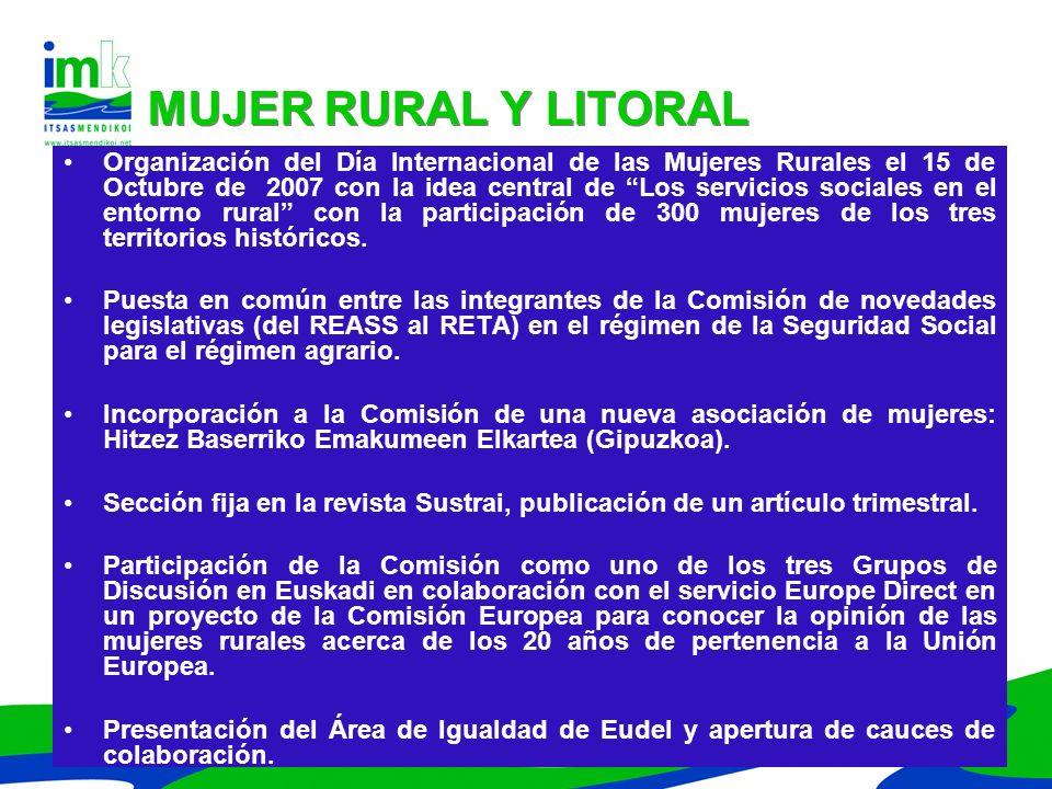 MUJER RURAL Y LITORAL