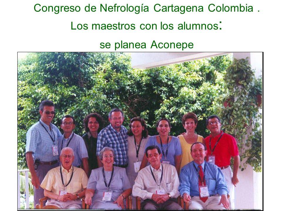 Congreso de Nefrología Cartagena Colombia