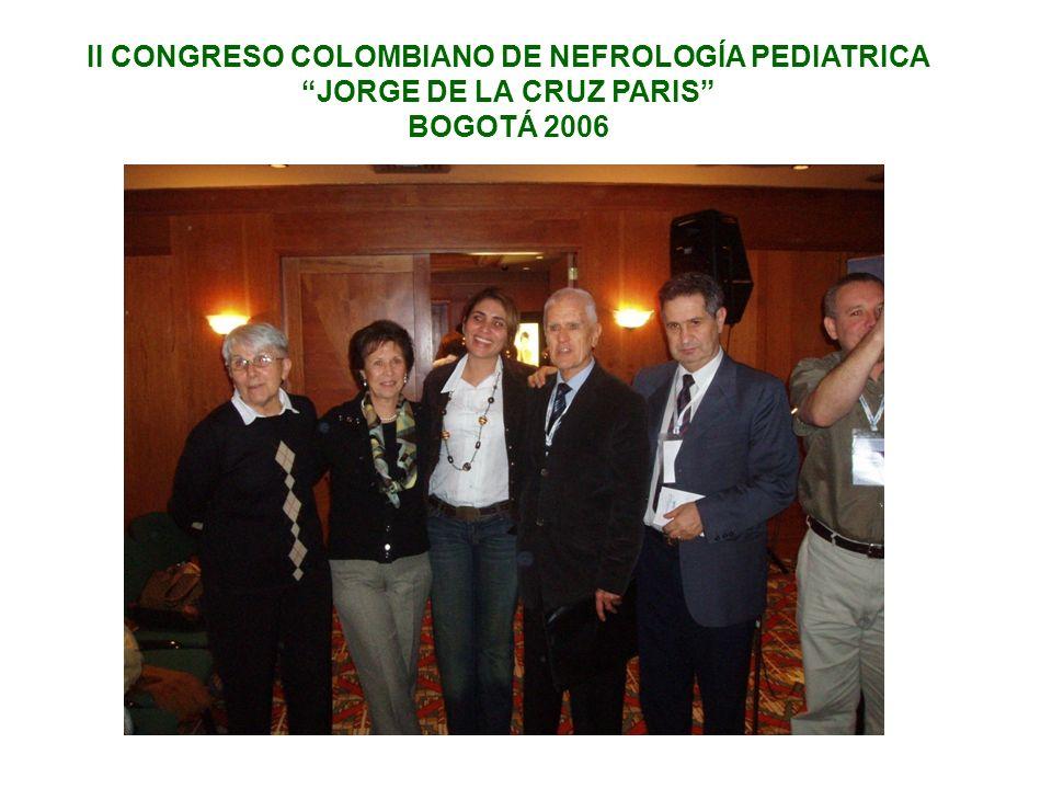 II CONGRESO COLOMBIANO DE NEFROLOGÍA PEDIATRICA