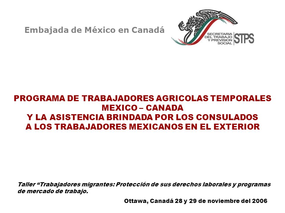 Embajada de México en Canadá
