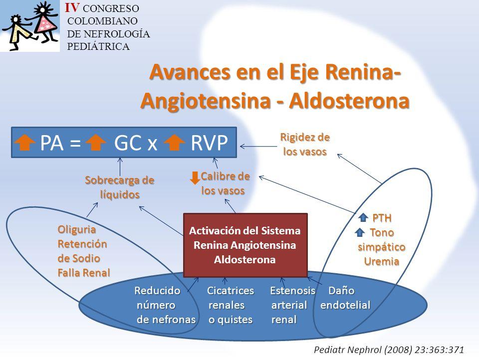 Avances en el Eje Renina-Angiotensina - Aldosterona