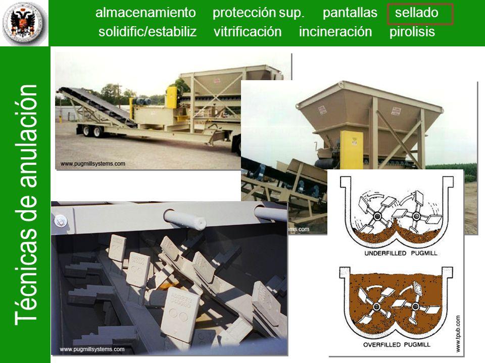 Adición y mezcla del suelo con un agente aglomerante (cemento) en una mezcladora mecánica (del 15% al 17% en peso, mas un 10% de agua).