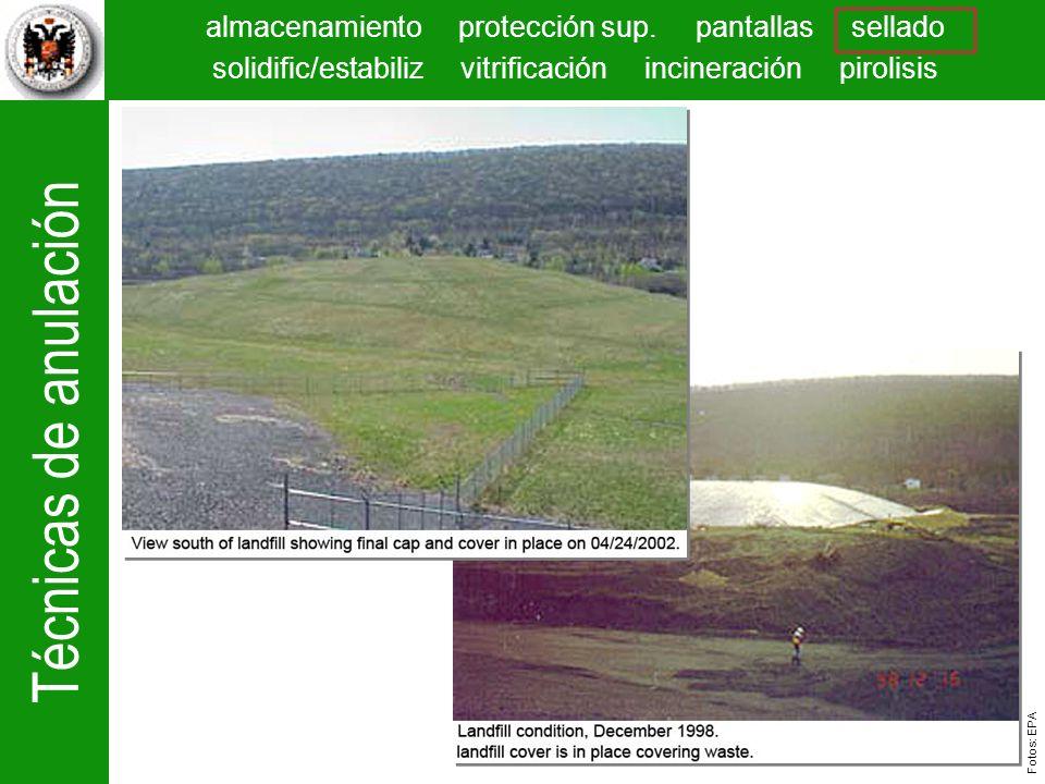 La superficie se suaviza para estabilizarla y disminuir la acción de la escorrentía y se siembra para evitar la erosión.