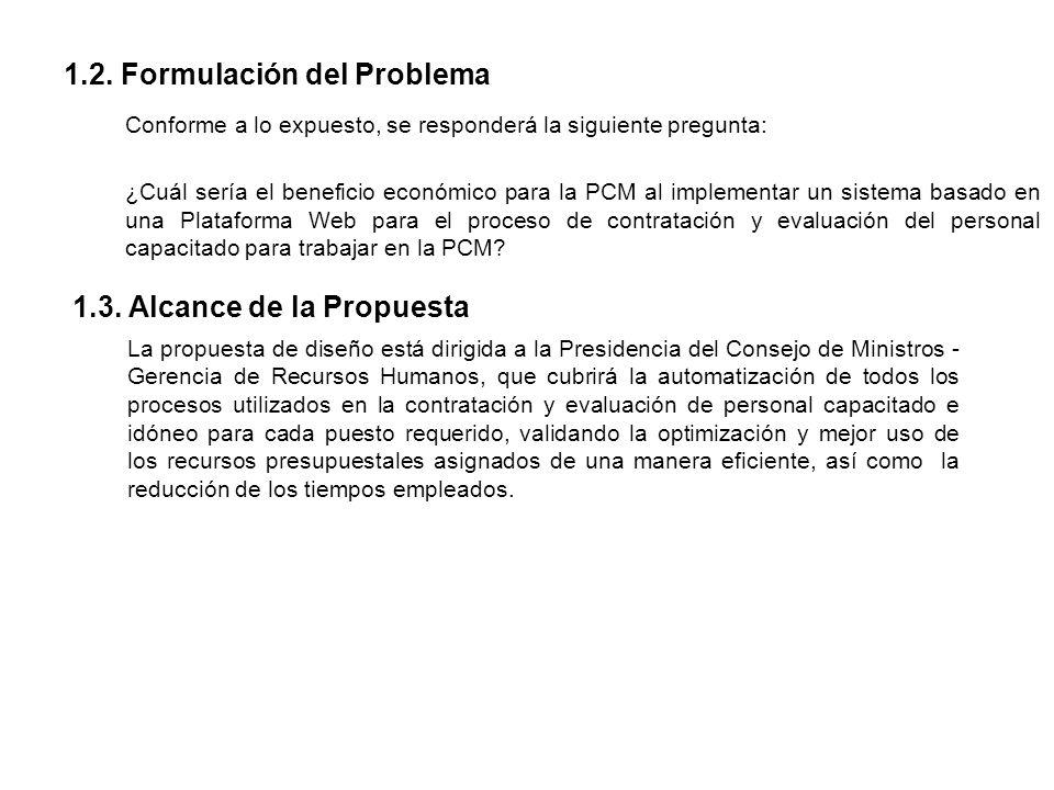 1.2. Formulación del Problema