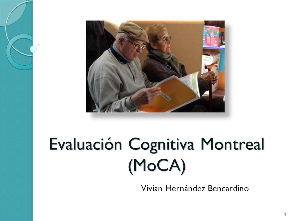 Evaluación Cognitiva Montreal (MoCA)