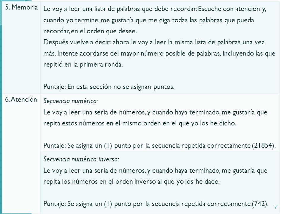 5. Memoria