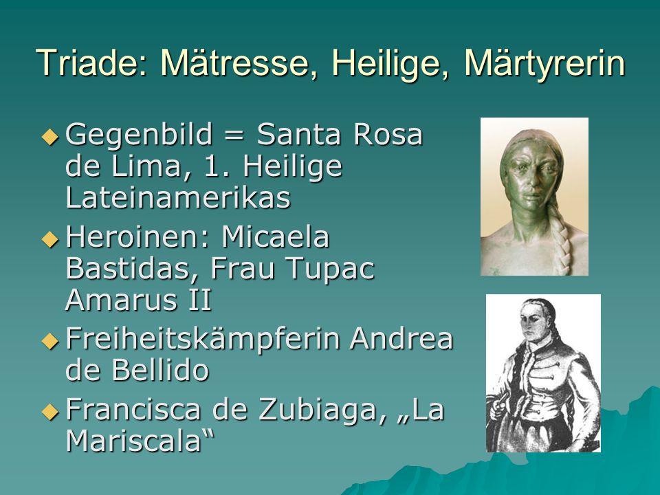 Triade: Mätresse, Heilige, Märtyrerin