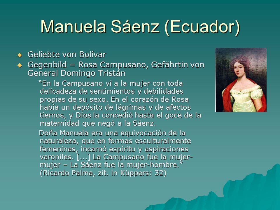 Manuela Sáenz (Ecuador)