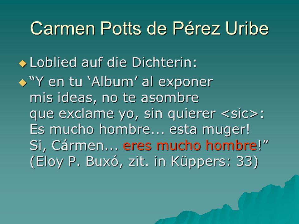 Carmen Potts de Pérez Uribe