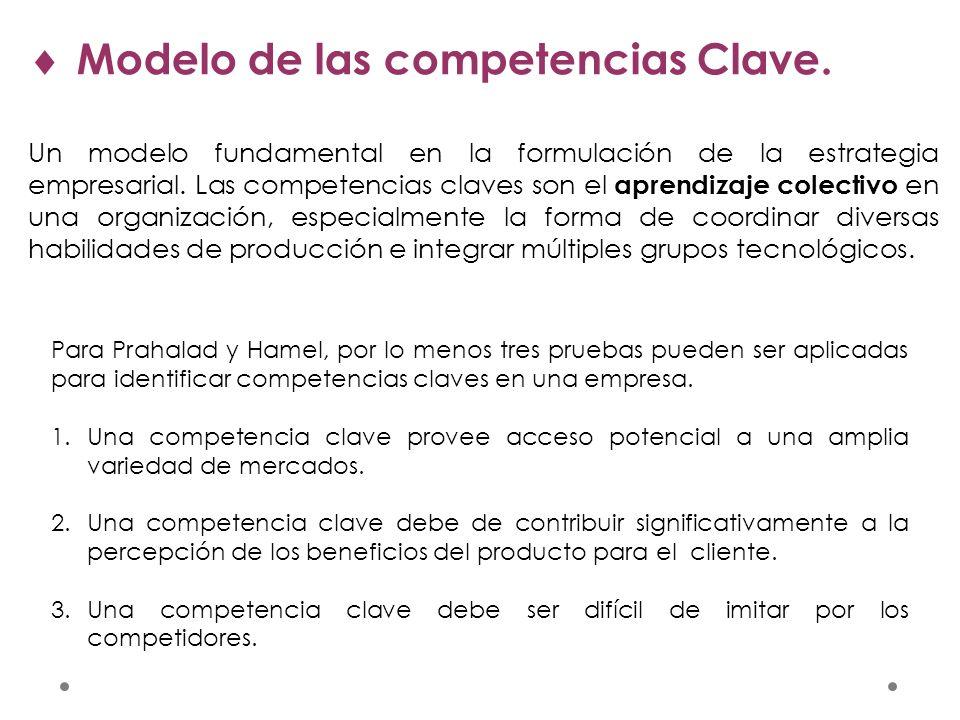 Modelo de las competencias Clave.