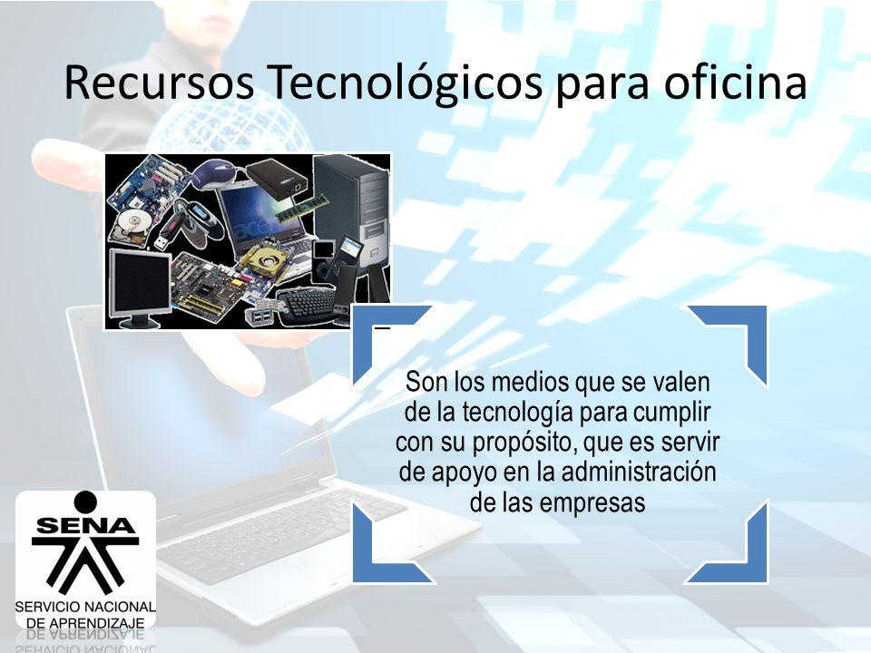 Recursos tecnol gicos para oficina ppt descargar for Oficina administrativa definicion