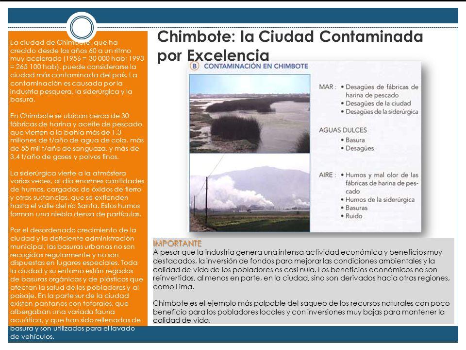Chimbote: la Ciudad Contaminada por Excelencia