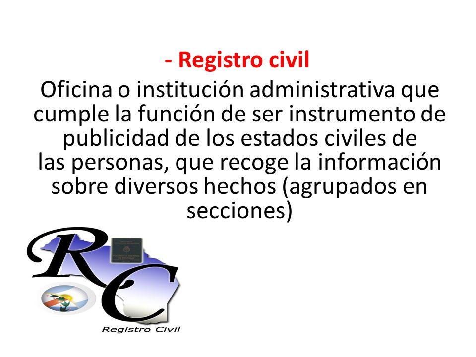 Derecho hipotecario el registro de la propiedad ppt for Oficina registro civil