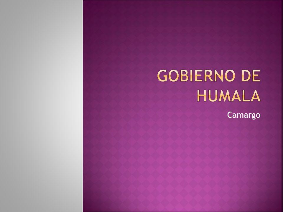 Gobierno de humala Camargo