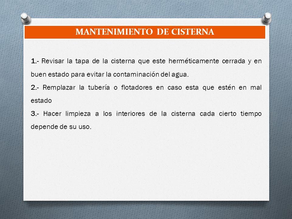 Cisternas ppt descargar for Lo espejo 0847 la cisterna