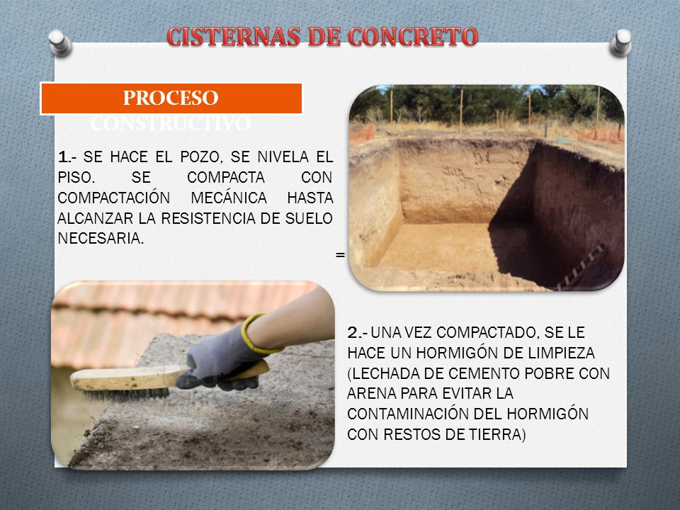 Cisternas ppt descargar for Cisternas de cemento