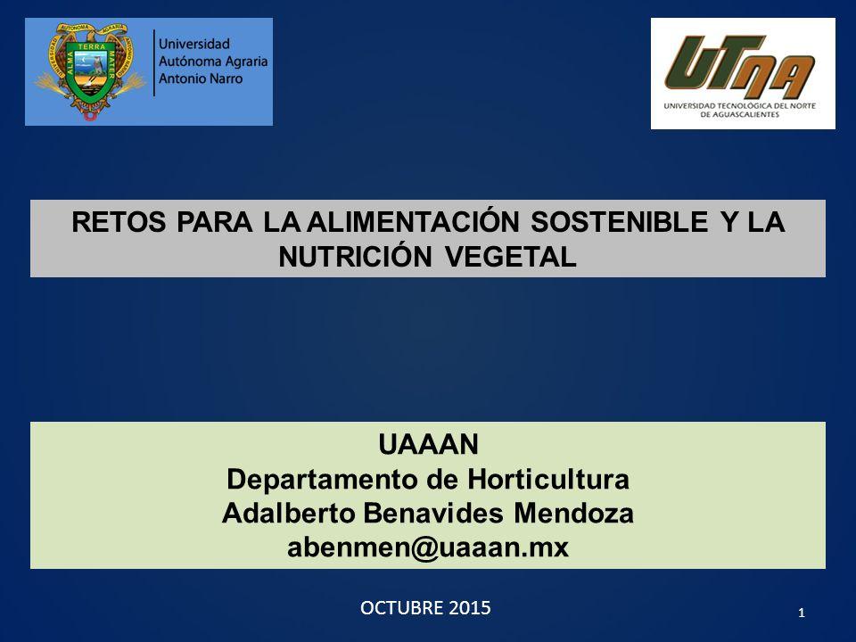 Retos para la alimentaci n sostenible y la nutrici n for Horticultura definicion