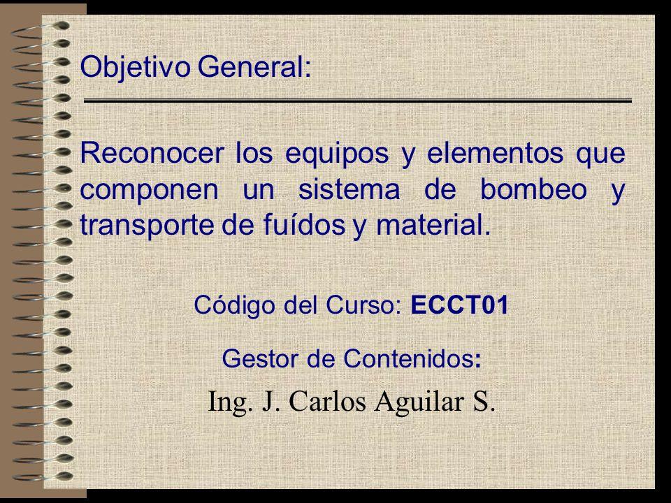 Gestor de Contenidos: Ing. J. Carlos Aguilar S.